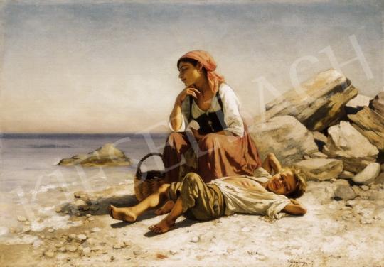Valentiny, János - Italian Beach | 24th Auction auction / 95 Item