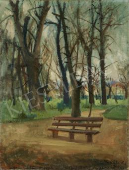 Takáts Zoltán - Park ősszel, 1940