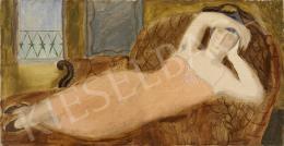 Fenyő György - Szieszta (Hommáge á Matisse)