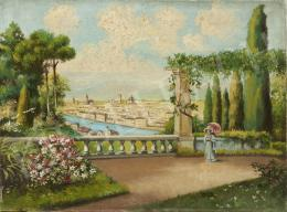 Ismeretlen festő - Firenze, 1926