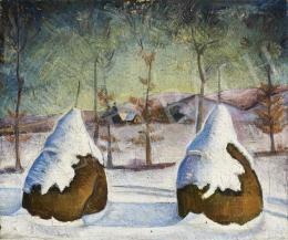 Ismeretlen festő, 20. sz. második harmada - Téli táj