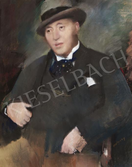 Hatvany Ferenc - Hatvany Lajos portréja festménye