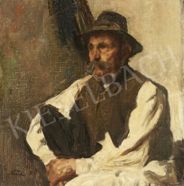 Szüle, Péter - Portrait of an Old Man