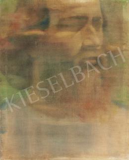 Méhes László - Önarckép, 1975