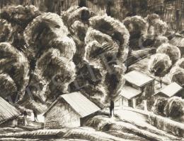 Czumpf Imre - Kis házak nagy fákkal