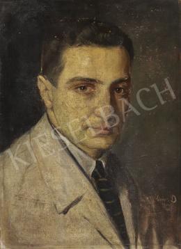 Diener-Dénes Rudolf - Önarckép, 1920