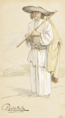 Pállik Béla - Oláh paraszt, 1908
