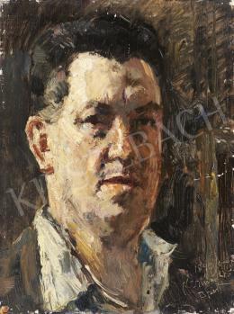 Herman Lipót - Önarckép, 1940