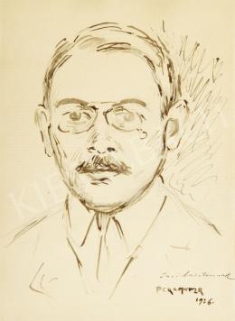 Perlmutter Izsák - Önarckép, 1926