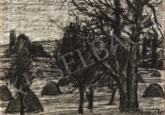Nagy István - Mező széle, 1920 körül festménye