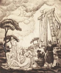 Kmetty János - Levétel a keresztről