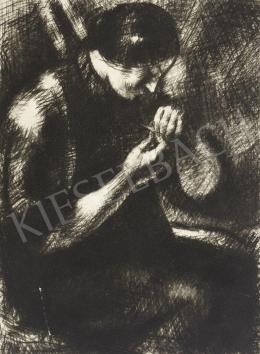 Uitz Béla - Varró nő, 1916