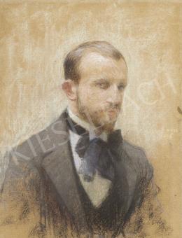 Poll Hugó - Önarckép, 1895