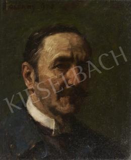 Bosznay István - Önarckép, 1928