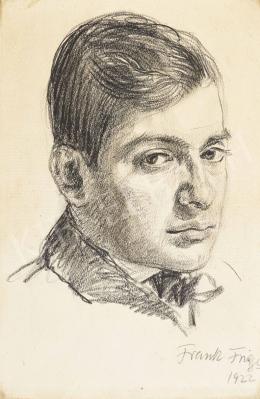 Frank Frigyes - Férfiportré, 1922