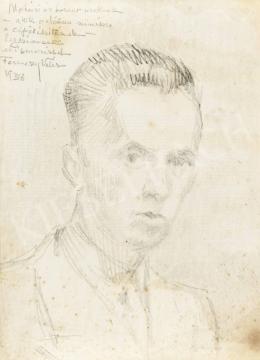 Ferenczy Valér - Önarckép, 1938