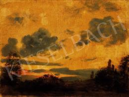 Székely, Bertalan - Sunset