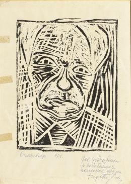 Szigethy István - Önarckép, 1964