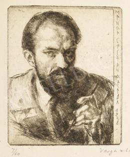 Varga Nándor Lajos - Önarckép, 1928