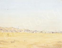 Friboud jelzéssel - Kairó madártávlatból, 1905