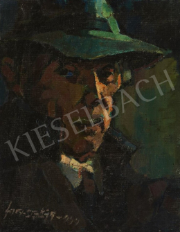 Nagy, Oszkár - Man with a Hat, 1949