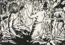 Varga Nándor Lajos - Veronika megtörli Krisztus arcát