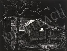 Varsányi Pál - Kecske az akolban, 1963
