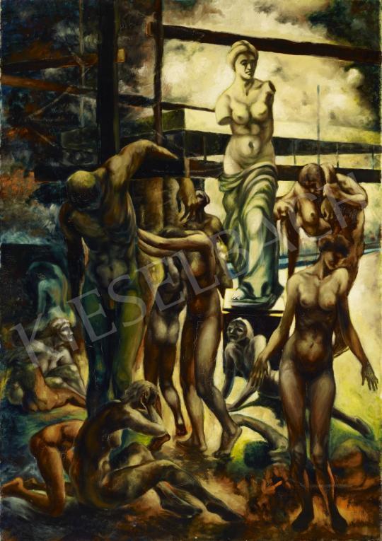 Eladó  Schwer Lajos - Milói Vénusz festménye