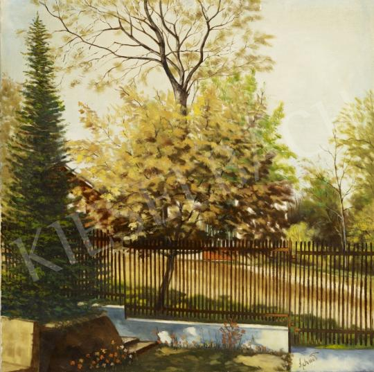 For sale  Schwer, Lajos - The most Beautiful Tree in my Garden 's painting