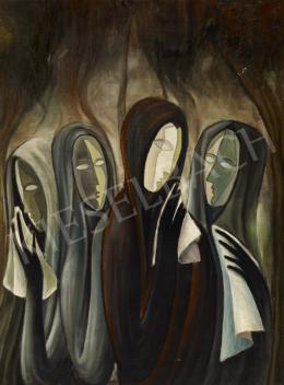 Schwer Lajos - Négy nő (Siratás)