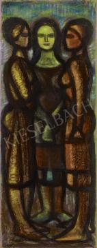 Eladó  Schwer Lajos - Három grácia festménye