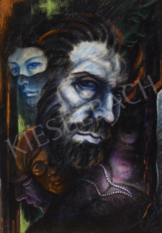 Eladó  Schwer Lajos - A csodálatos Mandarin festménye