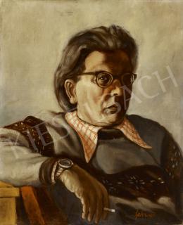 Schwer, Lajos - Self-Portrait