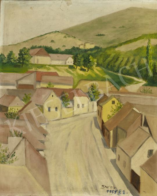 Eladó  Schwer Lajos - Táj festménye