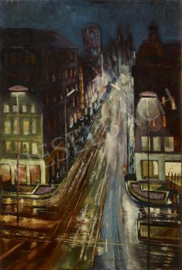 Schwer Lajos - Városi fények