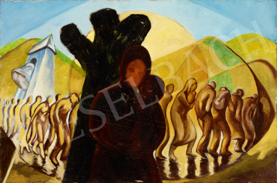 For sale  Schwer, Lajos - Marching On, Auschwitz 's painting