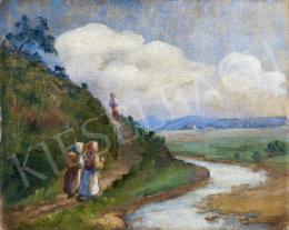 Shakirov Sebestyén - Gyerekek patakparti ösvényen