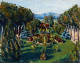 Lénárd Imre - Virágos park