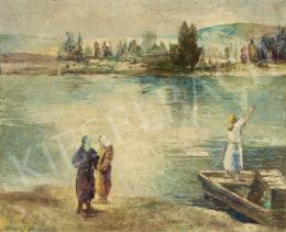 Tihanyi János Lajos - Asszonyok a folyóparton