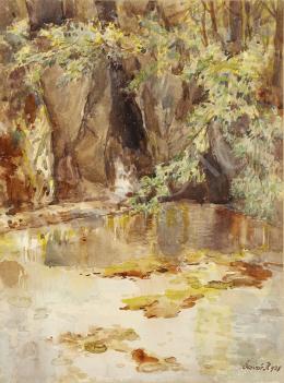 Ócsvár Rezső - Forrás barlanggal