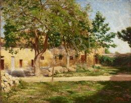 Tagyosi Rátz Péter - Napfényes kert, 1907