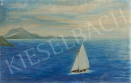 Ismeretlen festő - Az élet tengerén (Balaton)