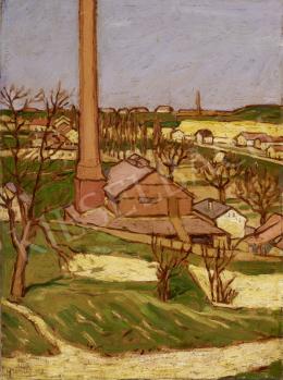 Szentes Béla - Gyártelep, 1918