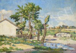 Ismeretlen festő Gebauer F. jelzéssel - Rákosi tanya