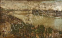 Ismeretlen festő, 20. század második harmada - Budapest látképe