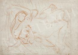 Ismeretlen festő, 20. század második harmada - Szerelmespár