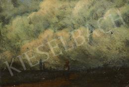 Ismeretlen festő, 20. század második harmada - Készülődő vihar