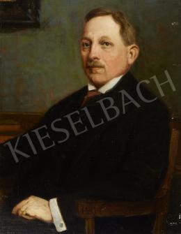 Ismeretlen magyar festő, 1925 körül - Iskolaigazgató