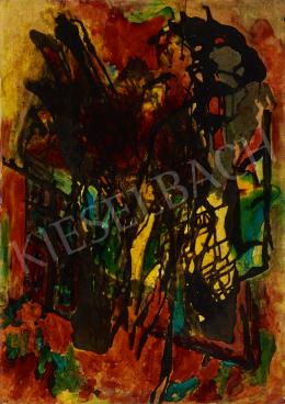 Ismeretlen magyar festő, 20. század harmadik harmada - Izzó látomás