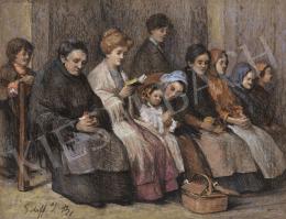 Schiff J. B. jelzéssel - Nők a templomban